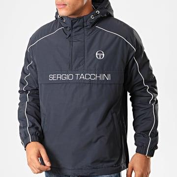 Sergio Tacchini - Veste Outdoor Dabou 38344 Bleu Marine Blanc