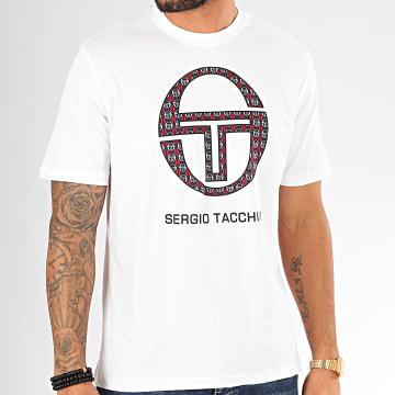 Sergio Tacchini - Tee Shirt Dust 38702 Blanc