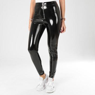 Pantalon Femme Vinyle 3962KPA Noir