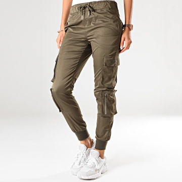 Jogger Pant Femme W3955CPA Vert Kaki