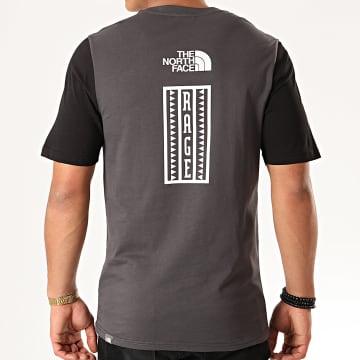 Tee Shirt Rage Graphic 3XXJ Gris Anthracite Noir