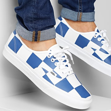 Baskets Authentic A2Z5IT67 Leather Check True White True Blue