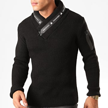 Pull Col Amplified Planete Noir