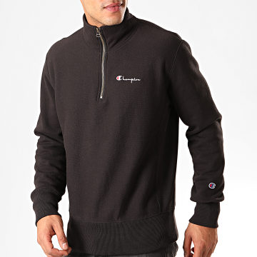 Champion - Sweat Col Zippé 214051 Noir