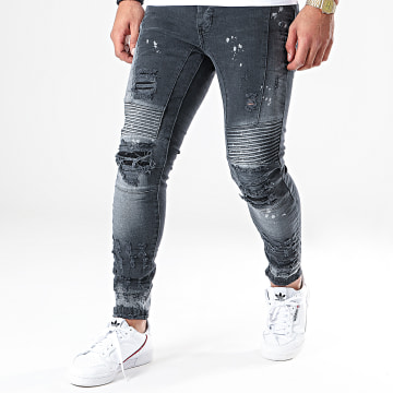 Jean Skinny DHZ-2884-1 Gris Anthracite