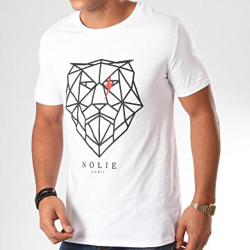 Dabs - Tee Shirt Lion Blanc