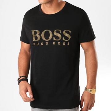 BOSS by Hugo Boss - Tee Shirt RN Special 50420866 Noir Doré