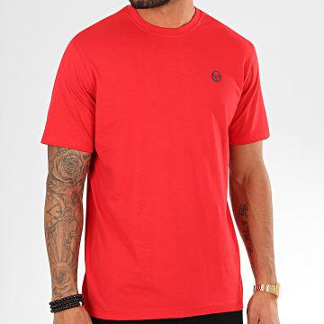 Sergio Tacchini - Tee Shirt Run 36405 Rouge Bleu Marine