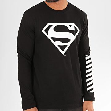 DC Comics - Tee Shirt Manches Longues Sleeve Noir