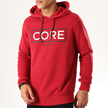 Sweat Capuche Booster Rouge