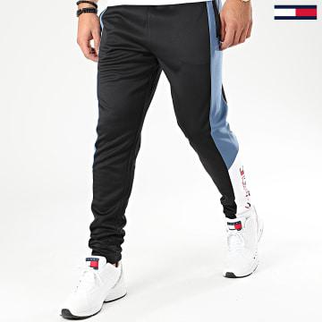 Pantalon Jogging A Bandes Winterized 0306 Noir