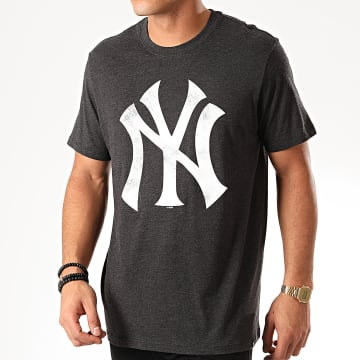 Tee Shirt New York Yankees Noir Chiné