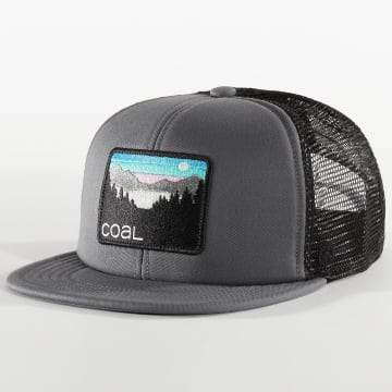 Coal Headwear - Casquette Trucker The Hauler Gris Noir