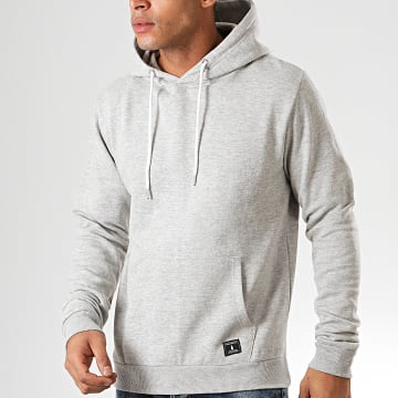 Paname Brothers - Sweat Capuche Soly Gris Chiné