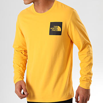 Tee Shirt Manches Longues Fine 37FT Jaune
