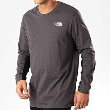 The North Face - Tee Shirt Manches Longues Rage 3XXF Gris Anthracite