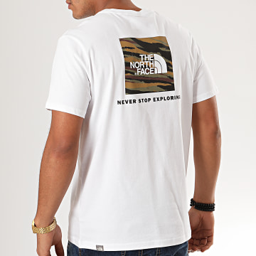 Tee Shirt Red Box 2TX2 Blanc
