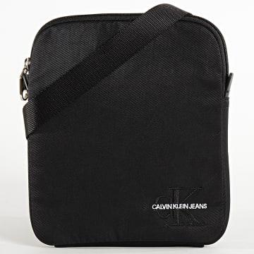 Calvin Klein - Sacoche Monogram Nylon Micro FP 5245 Noir
