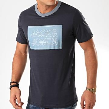 Tee Shirt Island Bleu Marine