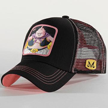 Casquette Trucker Buu Noir Rose