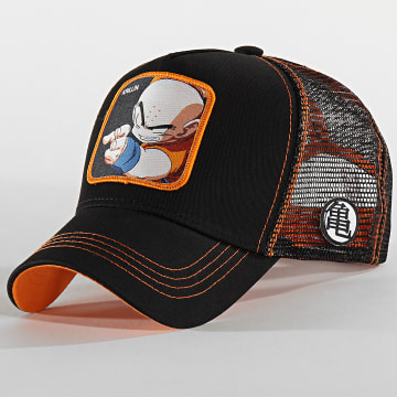 Casquette Trucker Krillin Noir Orange