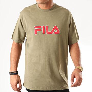 Fila - Tee Shirt Usher 687355 Vert Kaki