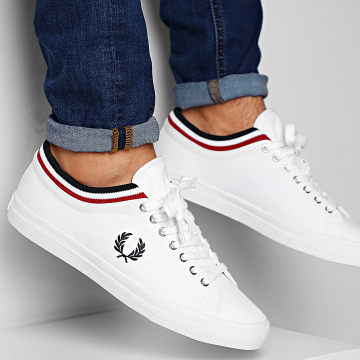 Fred Perry - Baskets B7106 White