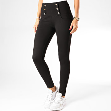 Legging Femme DT336 Noir Doré