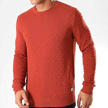 Jack And Jones - Pull Blake Rouge Brique