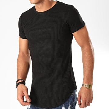 John H - Tee Shirt Oversize A091 Noir
