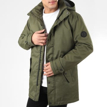 Only And Sons - Parka Favour Walther Vert Kaki