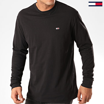 Tommy Jeans - Tee Shirt Manches Longues Classics 6959 Noir