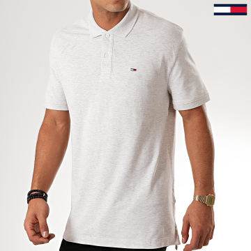 Polo Manches Courtes Classics Solid 7196 Gris Clair Chiné