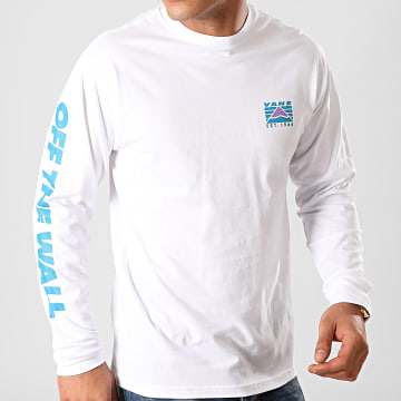 Vans - Tee Shirt Manches Longues Hi Point A49KFWHT Blanc