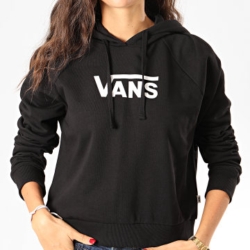 Vans - Sweat Capuche Femme Flying V Boxy A47TC Noir