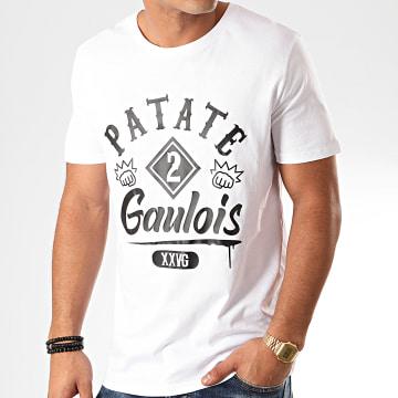 25G - Tee Shirt Patate 2 Gaulois Blanc