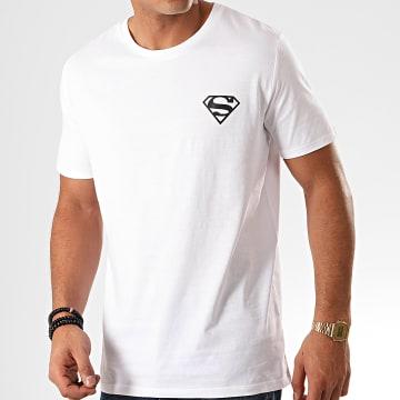 DC Comics - Tee Shirt Logo Recto Verso Blanc