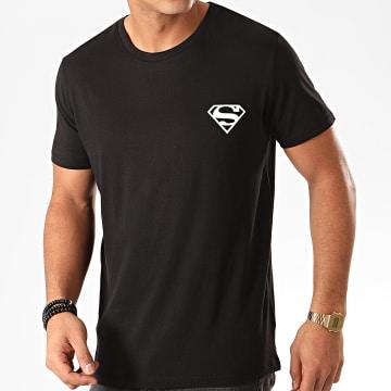 DC Comics - Tee Shirt Logo Recto Verso Noir