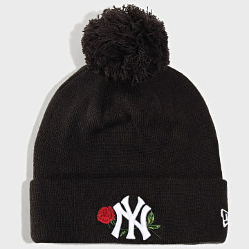 Bonnet MLB Twine Bobble New York Yankees 12134621 Noir