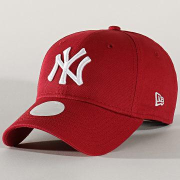 Casquette Femme 9Forty League Essential 12134638 New York Yankees Bordeaux