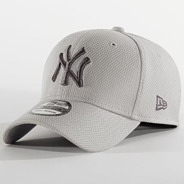 Casquette Fitted 39Thirty Team 12134683 New York Yankees Gris