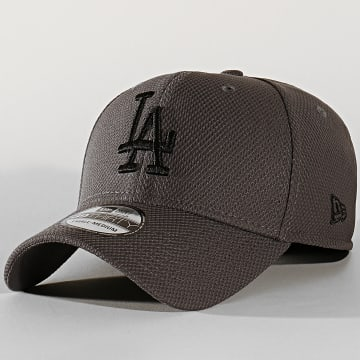 Casquette Fitted 39Thirty Team 12134684 Los Angeles Dodgers Gris
