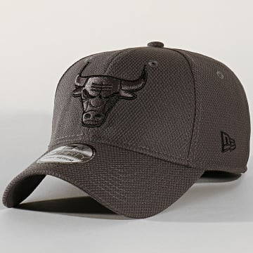 Casquette Fitted 39Thirty Team 12134685 Chicago Bulls Gris