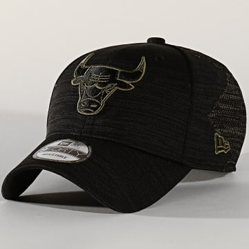 Casquette 9Forty Engineered Fit 12134788 Chicago Bulls Noir Vert Kaki