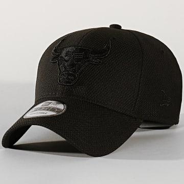 New Era - Casquette 9Forty Mono Team Colour 12134820 Chicago Bulls Noir