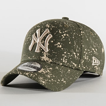 Casquette 9Forty MLB Paint Pack 12134845 New York Yankees Vert Kaki