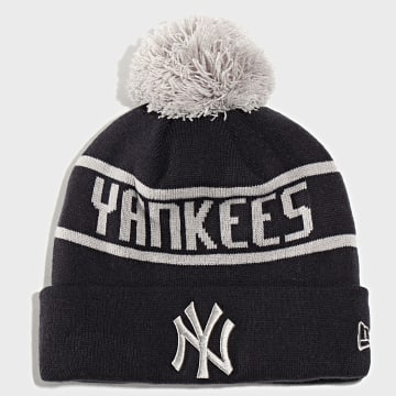 Bonnet Bobble Knit New York Yankees 12134847 Bleu Marine Gris
