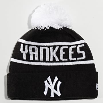 Bonnet Bobble Knit 12134848 New York Yankees Noir Blanc