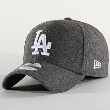 Casquette 9Forty Melange Tonal 12134857 Los Angeles Dodgers Gris Chiné