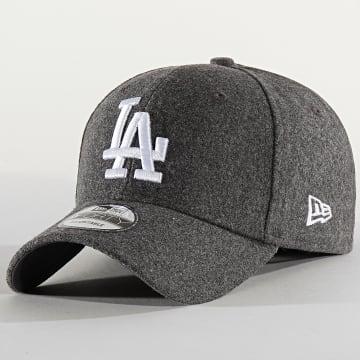 New Era - Casquette 9Forty Melange Tonal 12134857 Los Angeles Dodgers Gris Chiné